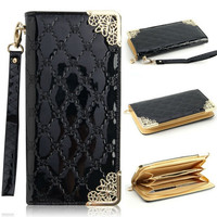 High Quality Women's Long Leather Wallet