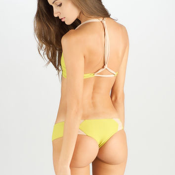 2014 ACACIA Swimwear Mentawai Bottom in Lilikoi Colorblock
