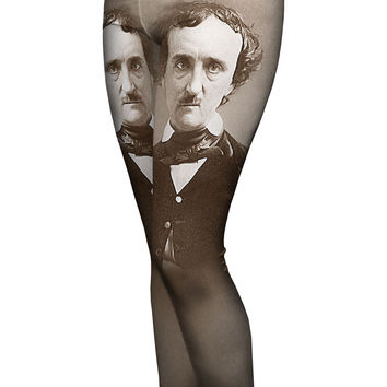 6310736cd Edgar Allan Poe-ka Dot socks from Out of Print