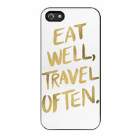 eat well travel often cases for iphone se 5 5s 5c 4 4s 6 6s plus