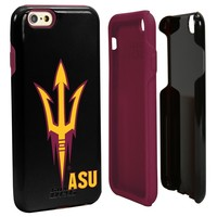 NCAA Arizona State Sun Devils Hybrid Case for iPhone 6, Black, One 6