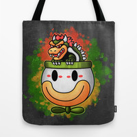 Bowser's Ride Tote Bag by Likelikes