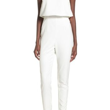 Missguided Strapless Popover Jumpsuit | Nordstrom