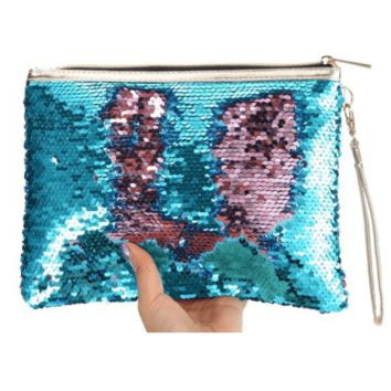 Mermaid Sequin Pencil Bag (Pre-order | Delivered by August 10th)