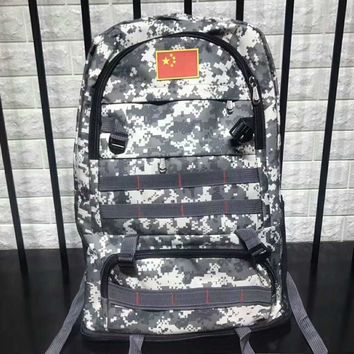Flag Canvas Backpack College High School Bag Travel Bag G-A-GHSY-1