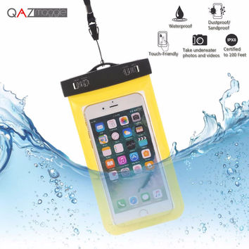 Universal Waterproof Bags Underwater Phone Case For iPhone 6 6s Plus 5S SE 7 7Plus/Samsung Galaxy S6 S7 Edge Plus