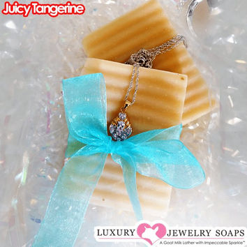 Juicy Tangerine Luxury Jewelry Soaps
