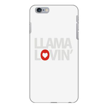 llama lovin' lover iPhone 6/6s Plus Case