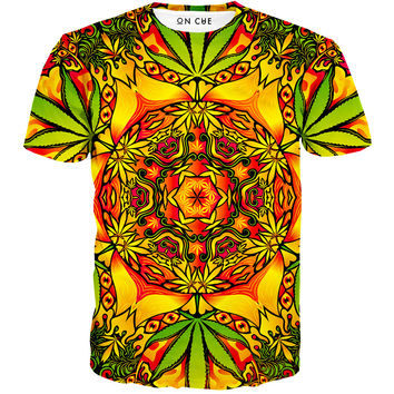 Psychedelic Weed T-Shirt