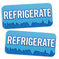 Refrigerate Bakery Labels