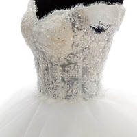 Custom made Victorian Inspired princess style Off Shoulder Ball gown, Lace Wedding dress No 31293