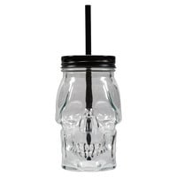 Clear Skull Jar with Lid By Ashland®