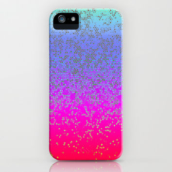 Glitter Star Dust G244 iPhone & iPod Case by MedusArt