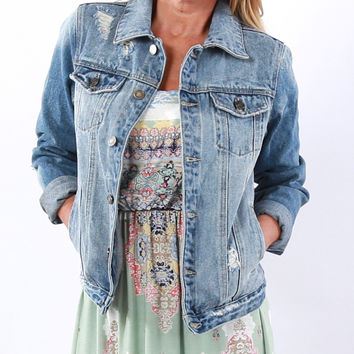 Luxe Denim Jacket