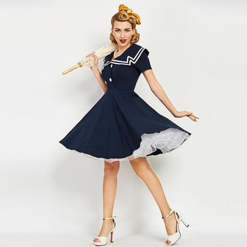 Jane Nautical Dress