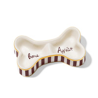 Henri Bendel Bone Dog Bowl