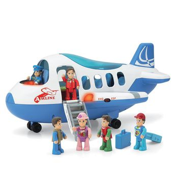 Happy Kid Toy Group Jet Plane Play Set