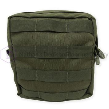 Tacprogear Large Olive Drab Green Utility Pouch