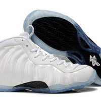 DCCKL8A Jacklish Nike Air Foamposite One Summit White-metallic Silver Online Sale
