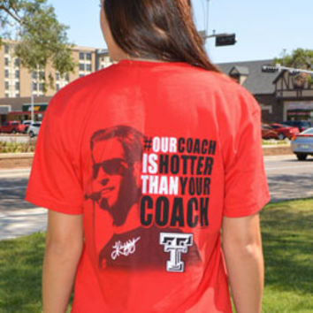 Our Coach Is Hotter Than Yours Women's V-neck