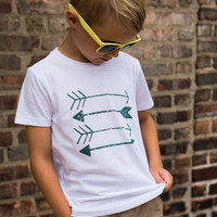 Arrows Tee - White