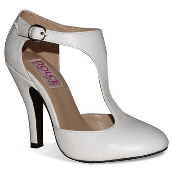 Dolce by Mojo Moxy Fiona Women's T-Strap High Heels