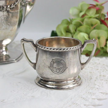 Silver Sugar Bowl / Hotel Silver / The Olympic Club / San Francisco Memorabilia