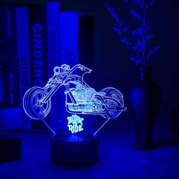 Chopper 3D LED Night Light Lamp
