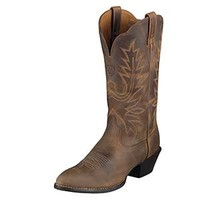 Ariat Women's Heritage Western Round Toe Distressed Boots
