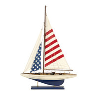 IMAX Carter American Flag Sailboat