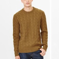 Lambswool Cable Knit Sweater