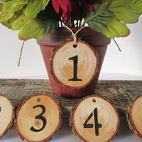 Wedding Table Number, Rustic Table Number, Reception Table, Table Numbers, Barn Wedding Decor, Rustic Wedding