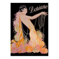 Vintage Theater Poster, Showgirl Paris from Zazzle.com