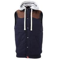 D555 Men's Hooded Gilet Bodywarmer