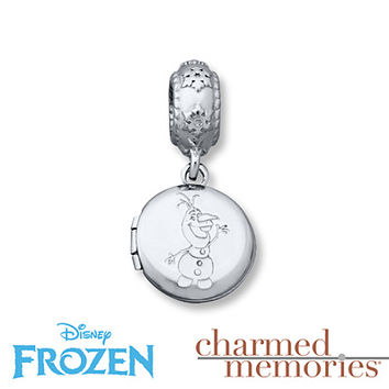 Charmed Memories Olaf Locket Charm Sterling Silver