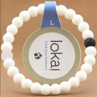 Shopnelo Lokai Supports Make-A-Wish For Friendship (pure White)