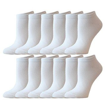 Womens Athletic No Show Running Socks  12 Pack  by ZEKE