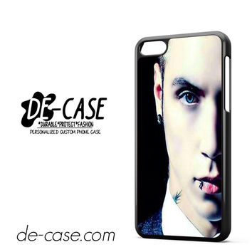 Andy Biersack Black Veil Brides Half Face DEAL-765 Apple Phonecase Cover For Iphone 5C