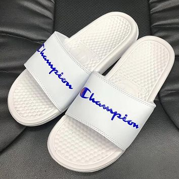 Champion Woman Men Fashion Slipper Sandals Shoes