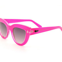 Quay Kitti Jelly Pink Sunglasses
