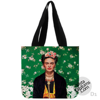 Frida Kahlo New Hot, handmade bag, canvas bag, tote bag