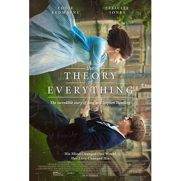 The Theory of Everything 27x40 Movie Poster (2014)
