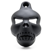 Motorcycle accessories Black Skull Horn Cover 1992-2014 Harley Davidson Motorcycles