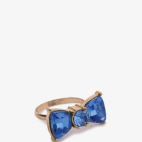 Duo-Tone Bow Ring | FOREVER 21 - 1044185604