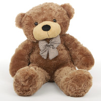 Sunny Cuddles Soft and Huggable Mocha Brown Teddy Bear 30in