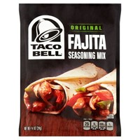 Taco Bell Home Originals Fajita Seasoning Mix, 1 oz - Walmart.com