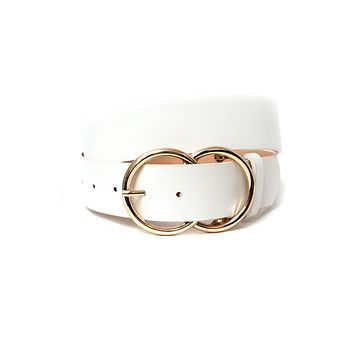 Double Ring Statement Belt