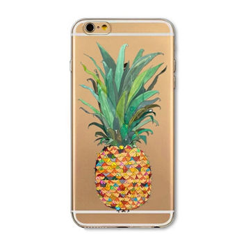 Mini pineapple mobile phone case for iphone 5 5s SE 6 6s 6 plus 6s plus + Nice gift box 072701