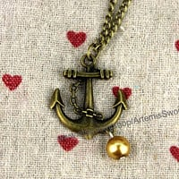 Jewelry pendants nautical anchor necklace cool pendant sweater chain daily jewelry jewelry pendants