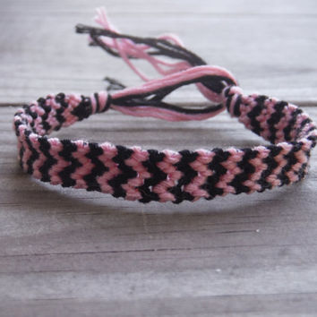 Premade and Custom Double Chevron Friendship Bracelet - Made to Order